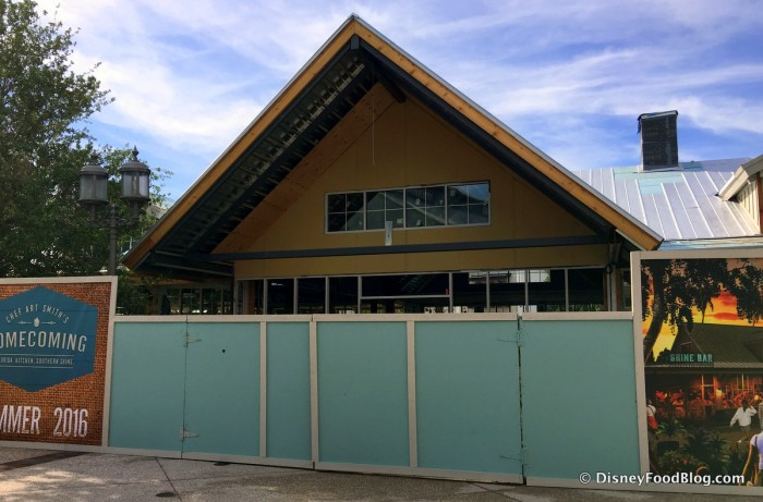 Homecoming: Florida Kitchen and Shine Bar, Taking Shape Behind the Construction Walls