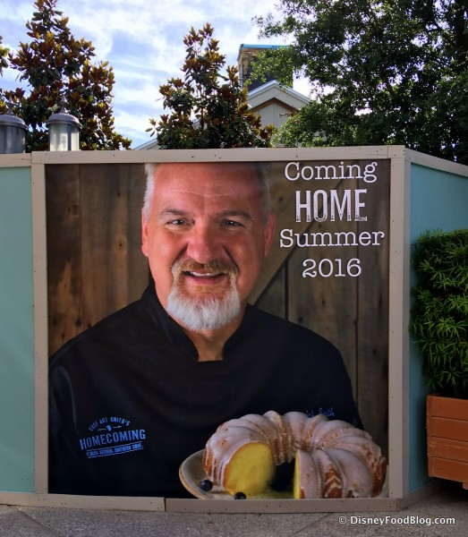 Coming Soon --  Homecoming: Florida Kitchen and Shine Bar