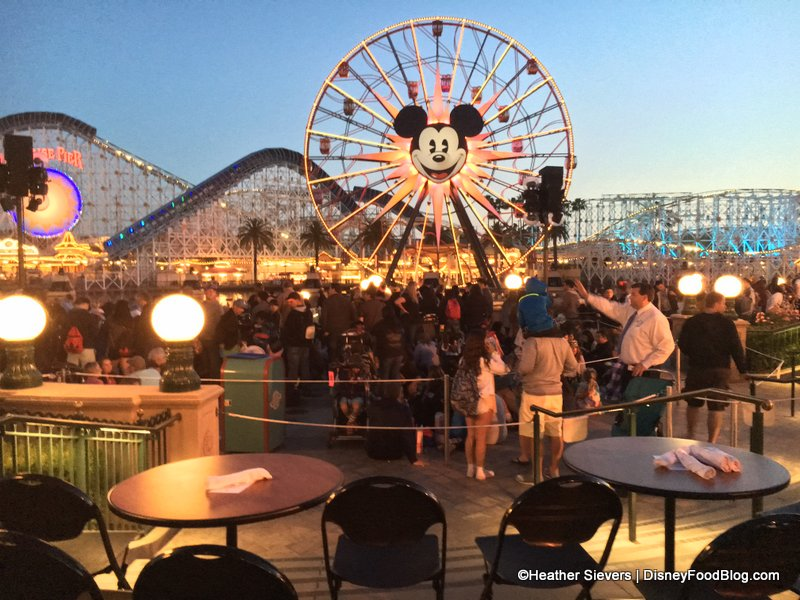 Dining In Disneyland Review World Of Color Dessert Party