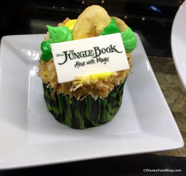 Jungle Book Cupcake