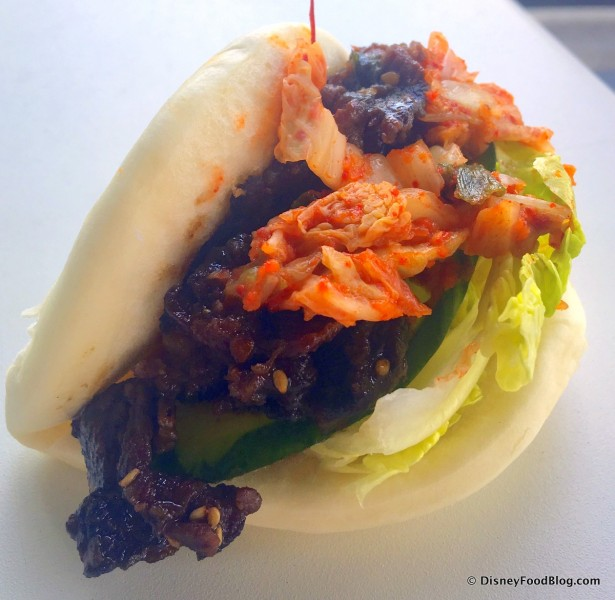 Kalbi Bao Taco -- Up Close