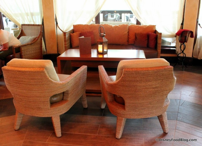 Nomad Lounge couch and chairs