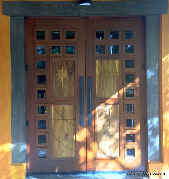 Nomad Lounge Door Detail