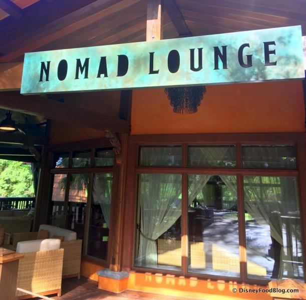 Nomad Lounge -- Up Close