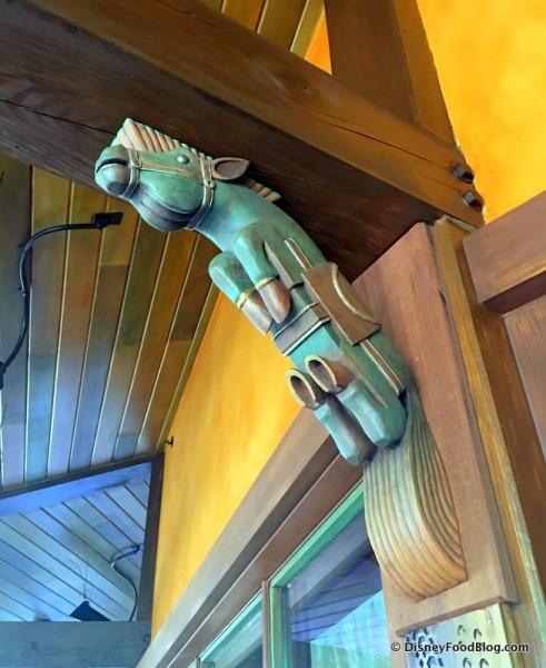 Decor Detail -- Woodwork