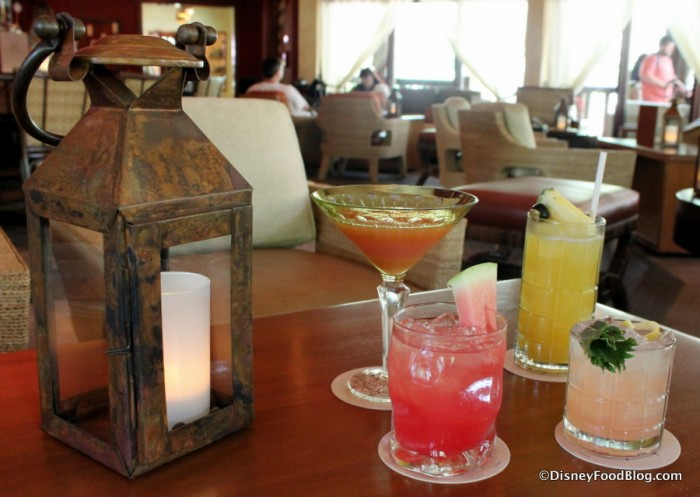 Nomad lounge Specialty Cocktails