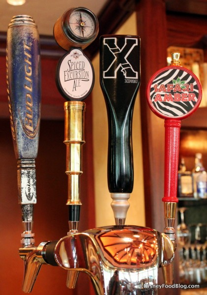 Spiced Excursion Ale on tap