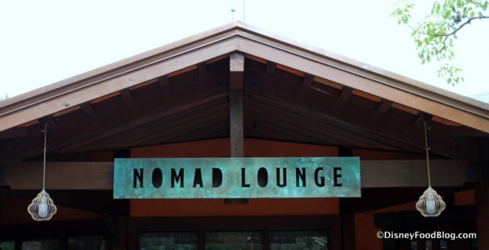 Nomad Lounge sign