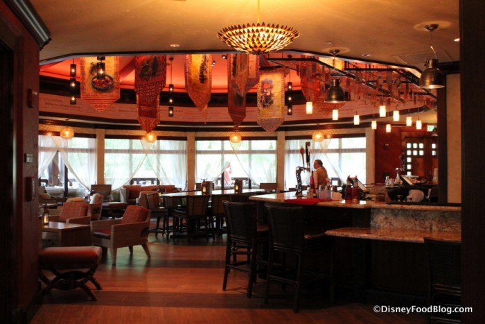 Nomad Lounge from Tiffins check in