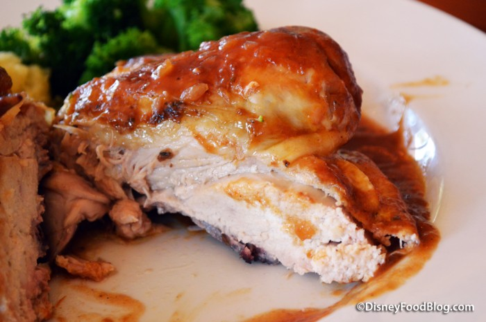 Roasted Chicken Cross-Section