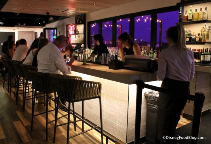 Upper Level Indoor Bar