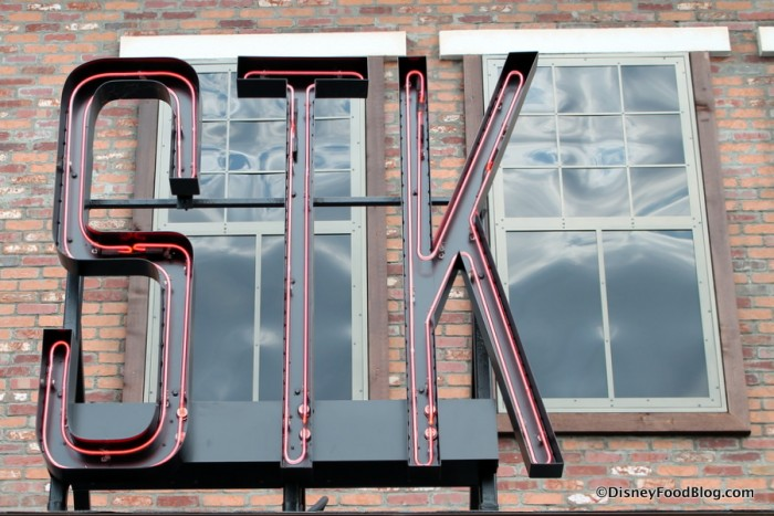 STK sign