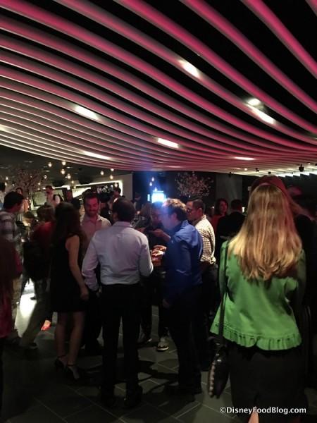 Open Room upon entering STK Orlando