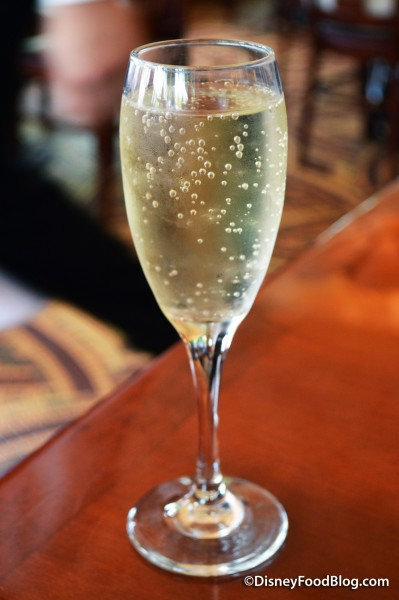 Glass of Louis Perdrier, Brut Sparkling Wine