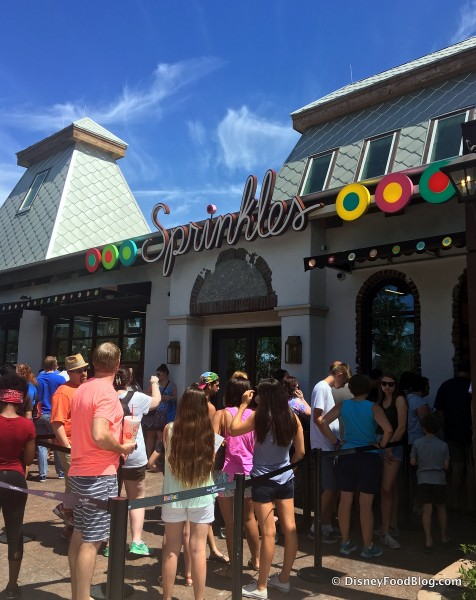 Sprinkles in Disney Springs