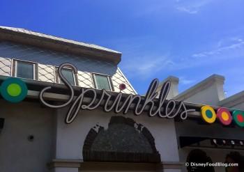 Sprinkles Sign