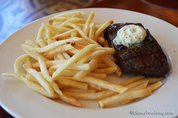 Steak Frites, Beurre Maitre d'Hotel