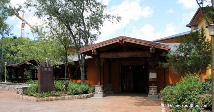 Tiffins Entrance
