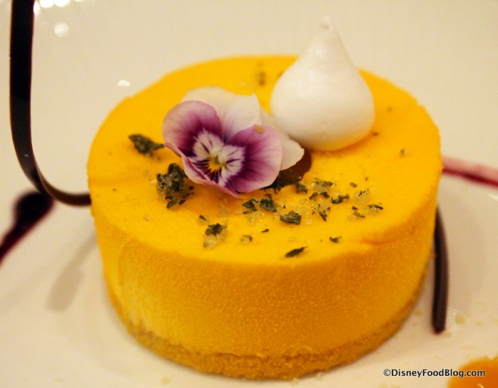 Calamansi Mousse -- Up Close
