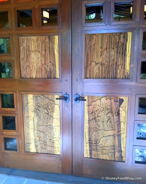 Tiffins Door Detail