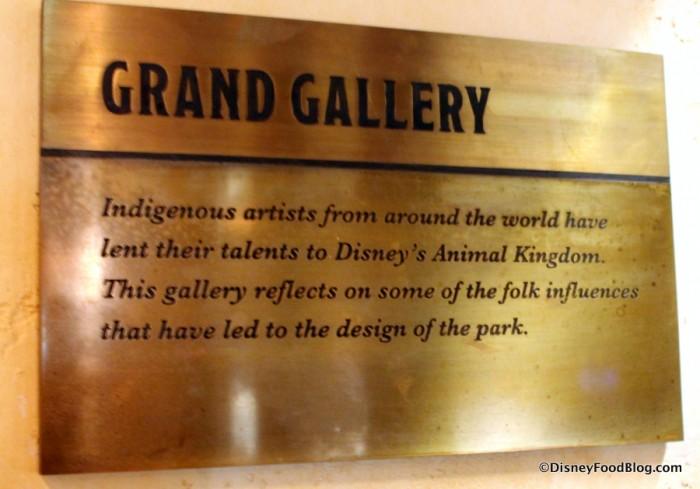 Grand Gallery Description