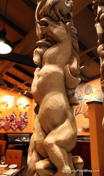 Grand Gallery Bali Carvings -- Up Close