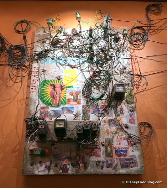 Electric Wires in Artwork