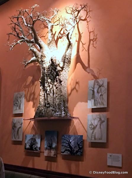 Model of a Safari Tree
