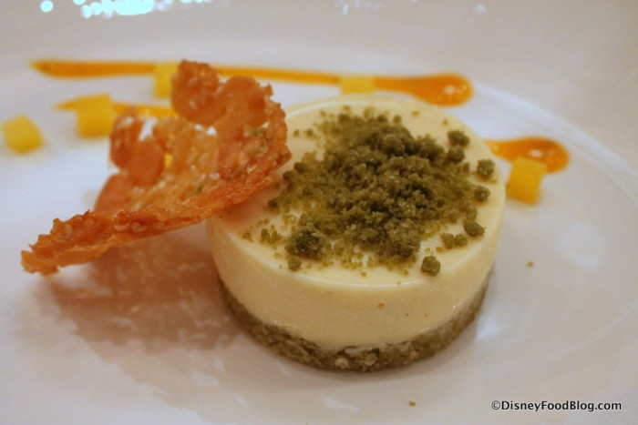 Lime Cheesecake -- Up Close