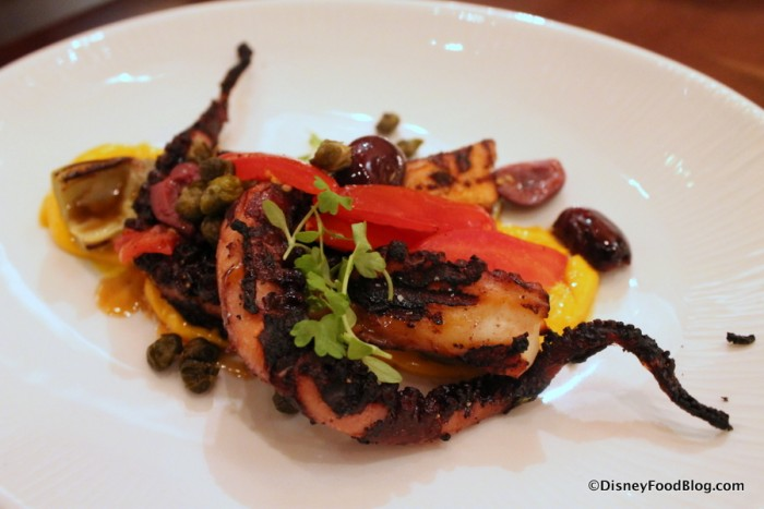 Marinated Grilled Octopus