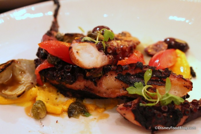 Marinated Grilled Octopus -- Up Close