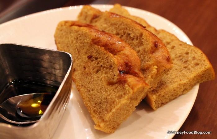 Pomegranate Foccacia Bread -- Up Close