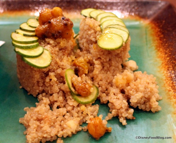 Millet with Lime Chutney -- Inside