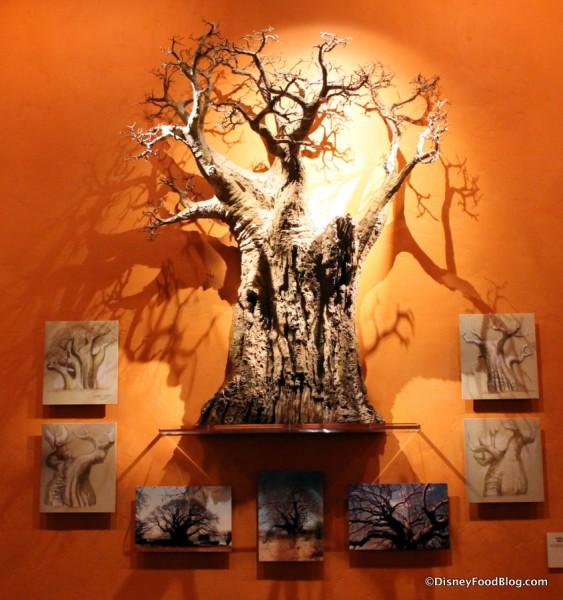 Safari Gallery Baobob Tree