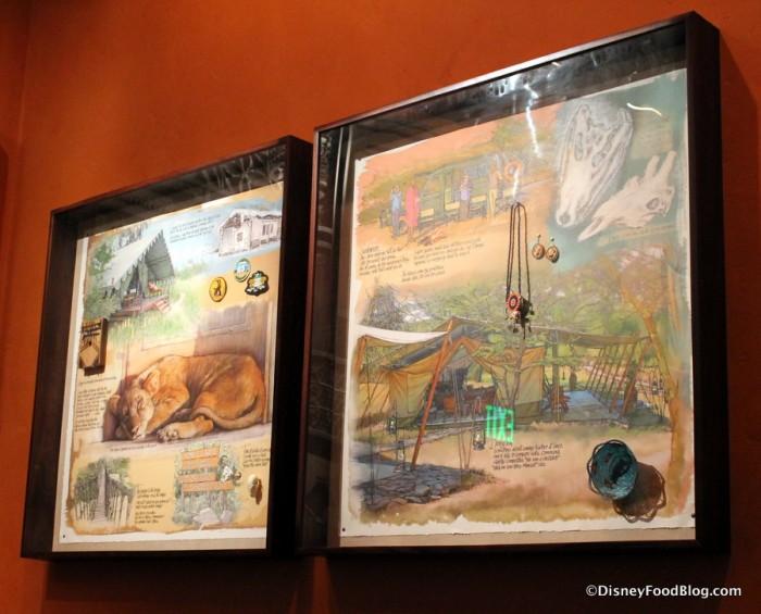 Safari Gallery -- Shadowboxes