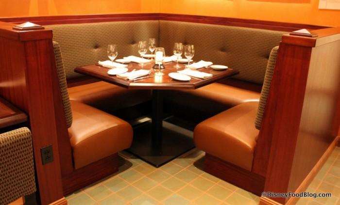 Safari Gallery Seating -- Corner Booth