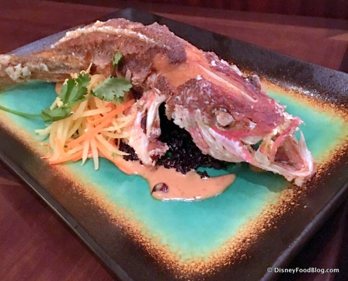 Sustainable Fish -- Yellowtail Snapper