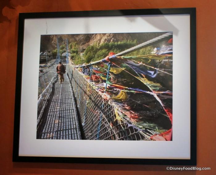 Trek Gallery -- Tibetan Prayer Flag Detail