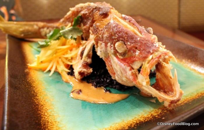 Whole Fried Sustainable Fish
