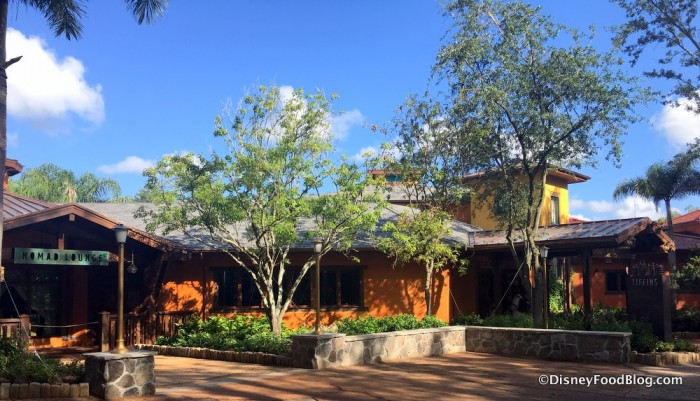 Tiffins and Nomad Lounge are affiliated, but have separate entrances