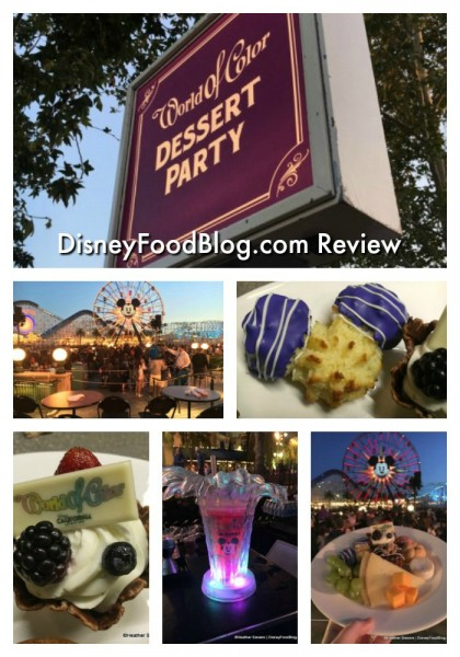 World of Color Dessert Party Review