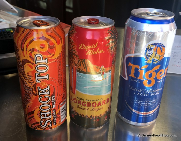 Available Beers