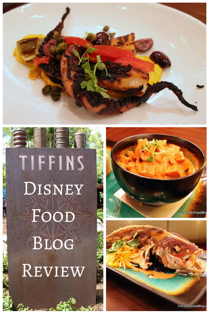 The FULL review from DisneyFoodBlog.com of Tiffins, a new signature restaurant in Animal Kingdom!