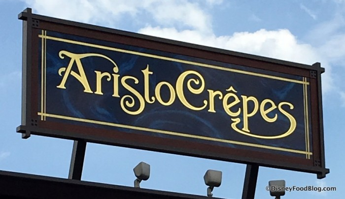 AristoCrepes sign