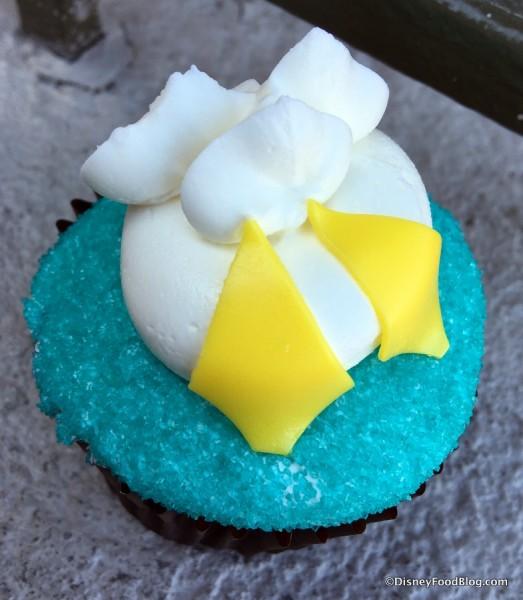 Donald Duck Cupcake