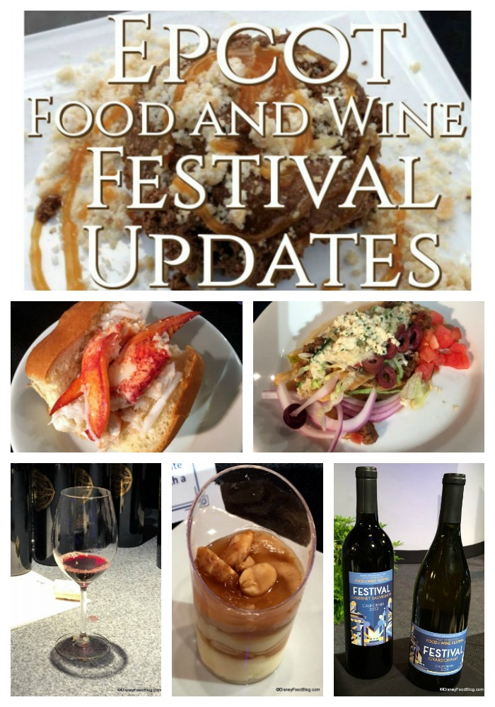 Epcot food and wine dates in Perth