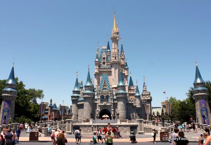 Cinderella Castle in Magic Kingdom