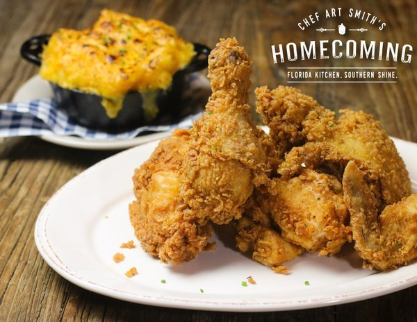 Fried Chicken @Homecoming FL, Twitter Account for Homecoming: Florida Kitchen and Southern Shine