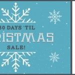 The DFB's 180 Days 'til Christmas Sale Starts TODAY!