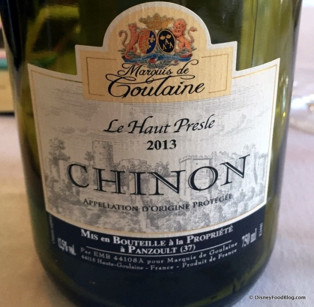 Second Wine -- Chinon